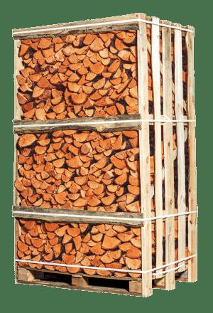 Pallet ovengedroogd elzen openhaardhout