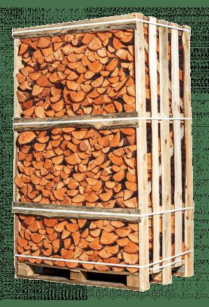 Pallet ovengedroogd espen openhaardhout