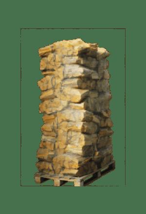 60 zakken ovengedroogd berkenhout (zonder krat)