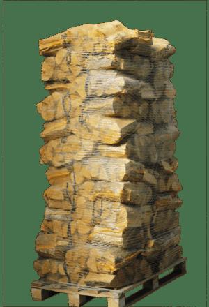 72 zakken ovengedroogd beukenhout (zonder krat)