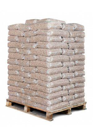 98 zakken bruine pellets (980kg)