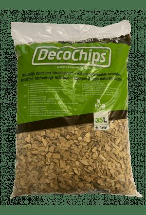 DecoChips Naturel 35L