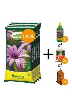 1000L potgrond + gratis keuzeproducten