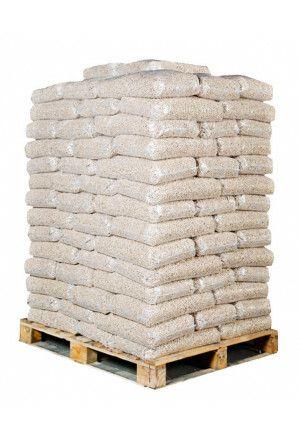 98 zakken witte pellets (980kg)