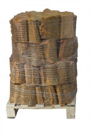 24 zakken gedroogd essenhout a 10 kg