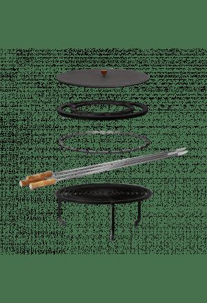 OFYR XL Grill Accessoire set + deksel
