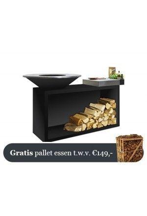 OFYR Zwart Eiland Plus Rubberhouten Plank 85-100-RW