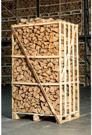 Pallet ovengedroogd eiken haardhout