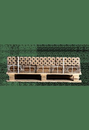 12 zakken Pini Kay briketten (import)