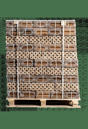 96 zakken Pini Kay briketten (vierkant)
