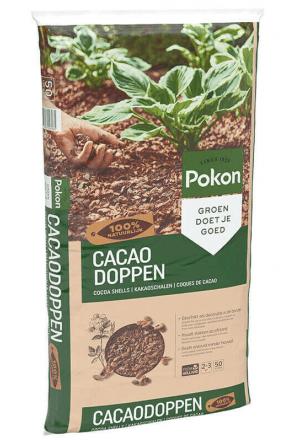 10 x 50L Pokon Terra d'Or Cacaodoppen