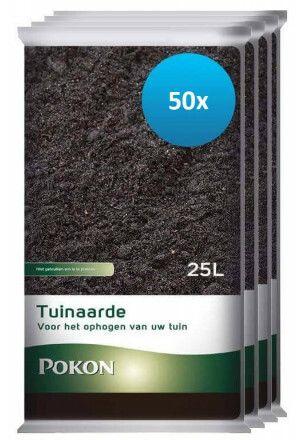 50 x 25L Pokon Tuinaarde (1250 liter)