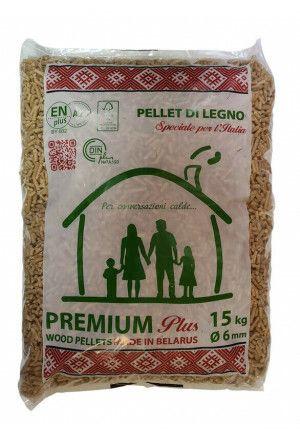 Premium Din plus & EN plus A1 pellets a 15kg