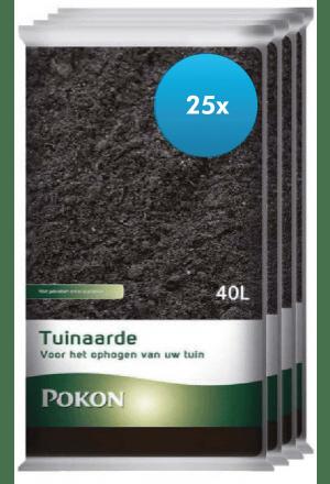 25 x 40L Pokon Tuinaarde (1000 liter)