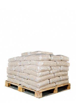 50 zakken witte pellets (500kg)