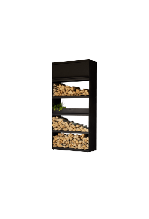 Wood Storage Black 100
