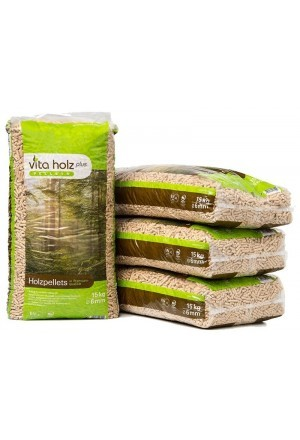 Vita Holz houtpellets - 33 zakken a 15 kg