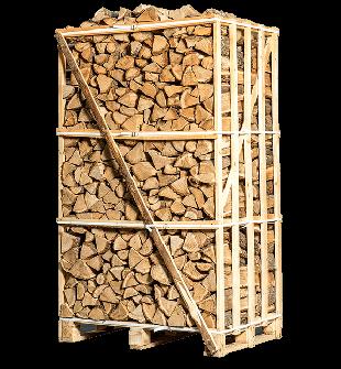 Natuur gedroogd berkenhout