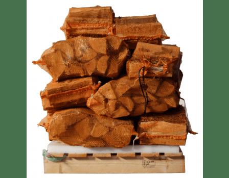 2 kuub elzenhout in netten