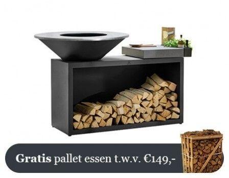 OFYR Zwart Eiland Plus Lichtgrijze Keramische Plank 100-100-CL