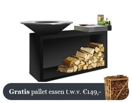 OFYR Zwart Eiland Plus Lichtgrijze Keramische Plank 85-100-CL