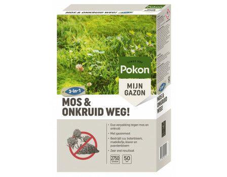 Pokon Mos en Onkruid weg 50m2