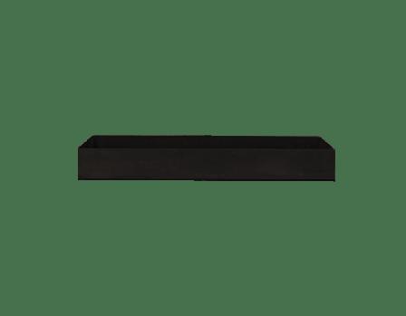Wood Storage Insert Black