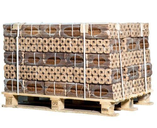 Besparen Op Openhaardhout : Pini kay briketten verpakt op pallet per zakken