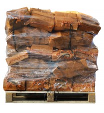 40 zakken gedroogd berkenhout a 8 kg