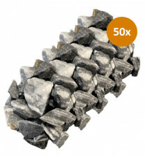 50 Siersteen Premium Zebra 30-40mm