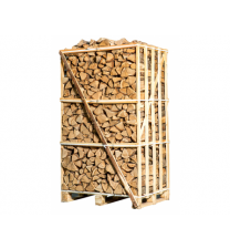 Hele pallet ovengedroogde haardhout mix