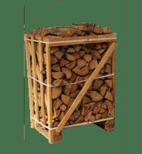 Minipallet ovengedroogd berkenhout 0,5 m3