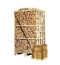 Minipallet berkenhout ovengedroogd