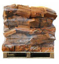 40 zakken gedroogd berkenhout à 8 kg