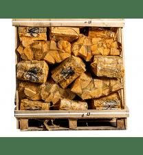 40 zakken gedroogd eikenhout