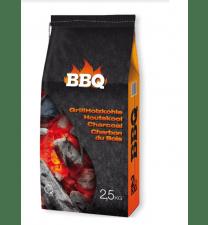 10x 2,5kg BBQ Houtskool (25 kg)