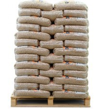 100 zakken bruine pellets (1000kg)