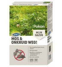 Pokon Mos en Onkruid Weg 50m2 (3 in 1)