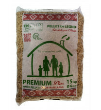 Premium Din plus & EN plus A1 35 zakken a 15kg